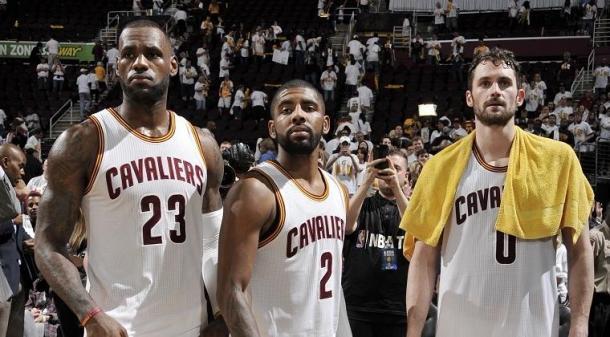 Cleveland Cavaliers' Big Three. Photo: David Liam Kyle