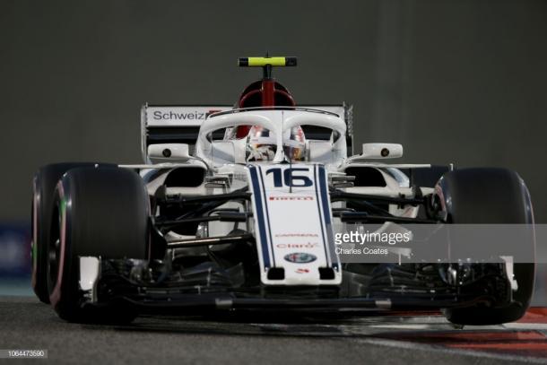 Leclerc se marcha de Sauber tras haber cuajado una gran temporada. Foto: Getty Images.