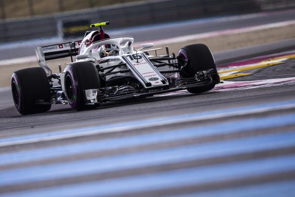 Charles Leclerc. Foto: Alfa Romeo Sauber,