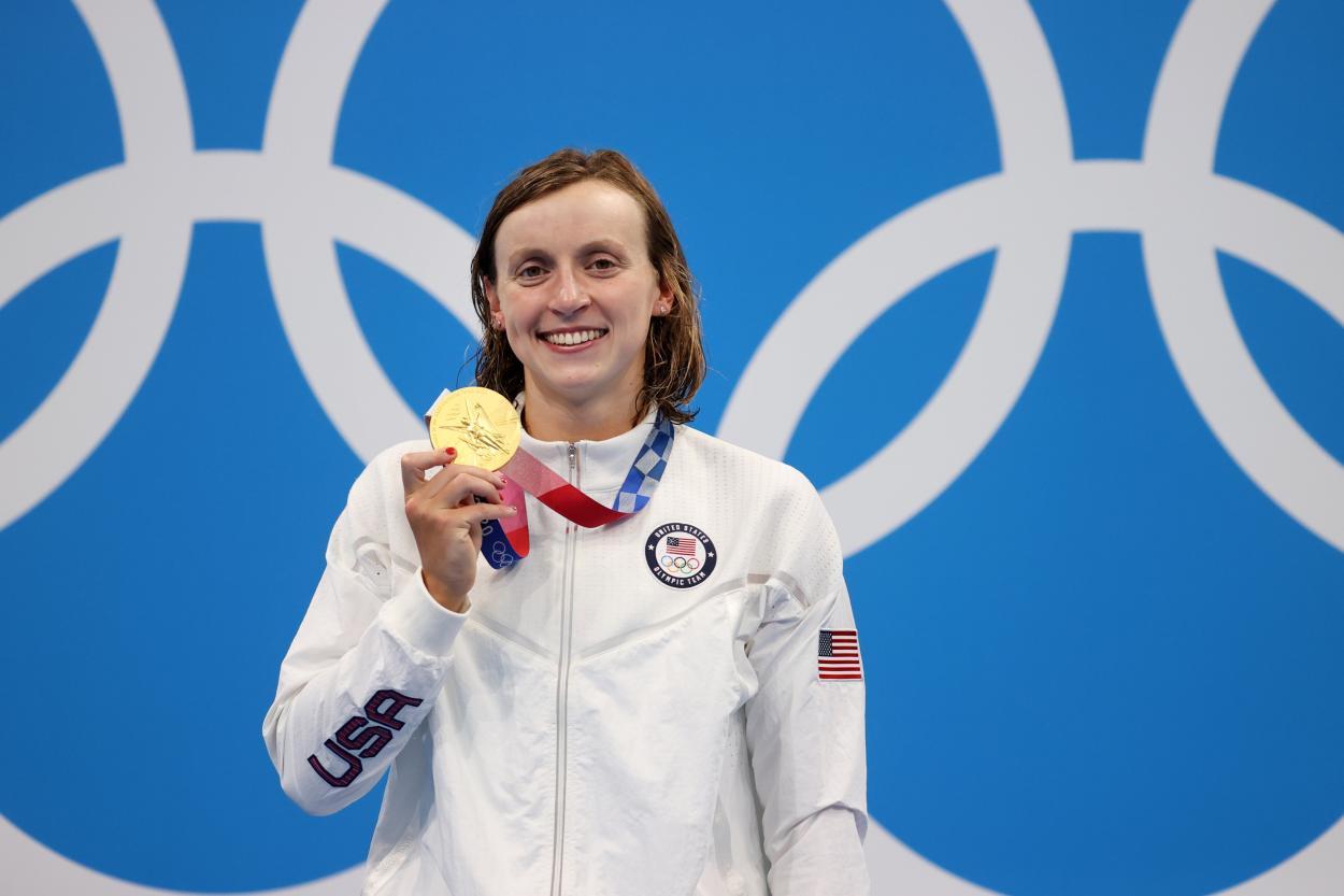 Se llevó el oro Ledecky tras un día complicado / Fuente: FINA