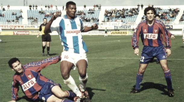 Makukula disputó una temporada con la camiseta del Leganés