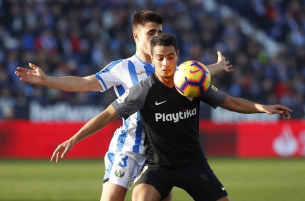 Ben Yedder fue el autor del único gol sevillista | Foto: Sevilla FC