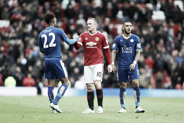 Champions Leicester took points off United at Old Trafford (Photo: Plumbe Images / Getty Images)