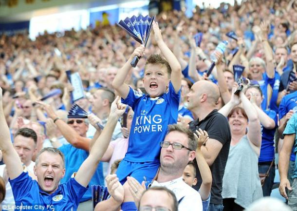 Leicester's fans have been nothing short of sensational (photo: getty)