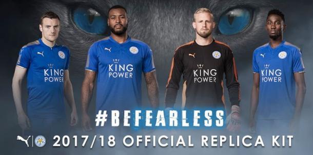 Foto: Reprodução / Leicester City / Puma
