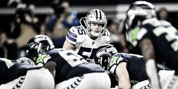 Leighton Vander Esch, lider tacleador de los Cowboys (foto Dallas Cowboys)