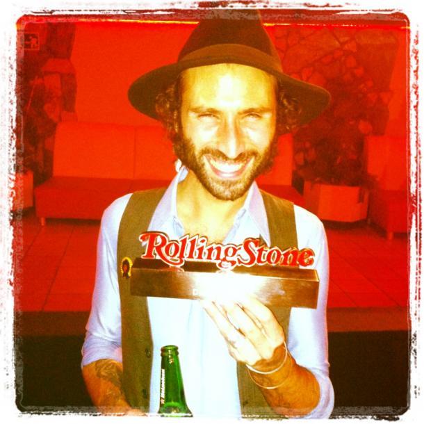 Leiva gana un Rolling Stone (Fuente: Web oficial de Leiva)