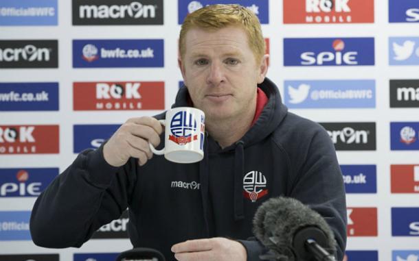 Neil Lennon, entrenador del Bolton. Foto: Telegraph