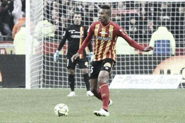 At only 20 years of age, Gbamin will be seen as one for the future by manager Martin Schmidt. (Photo: lensois.com)