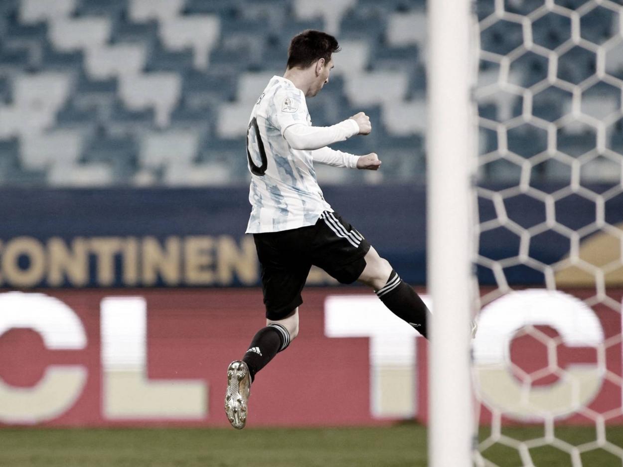 Lionel Messi sigue batiendo récords   Foto: CONMEBOL