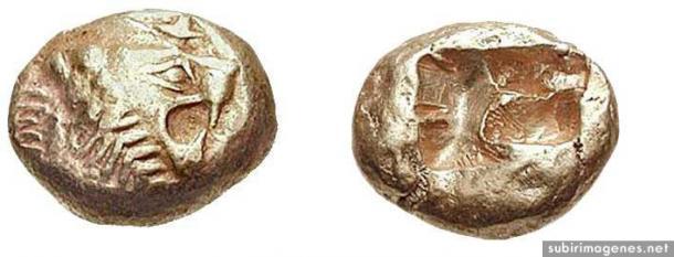 León de Lydia (600-AC)