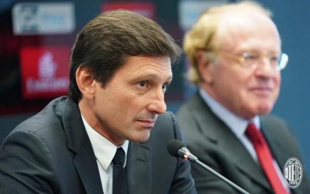 Leonardo foi um dos pilares da negociação. Foto: Reprodução/Milan