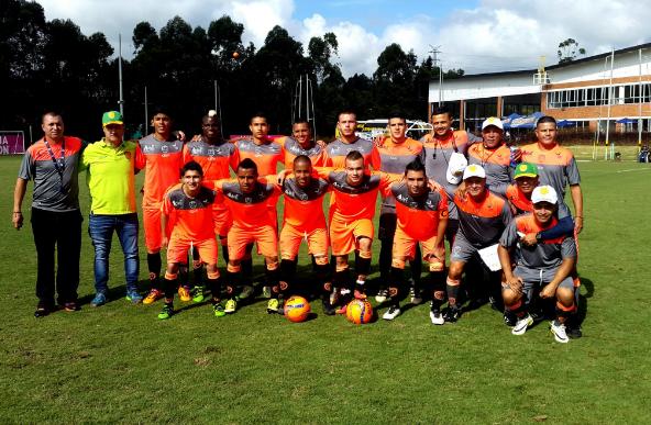Tomás Maya ya actuó con Leones en amistoso ante Carabobo. | Foto: Itagüí Leones F.C.