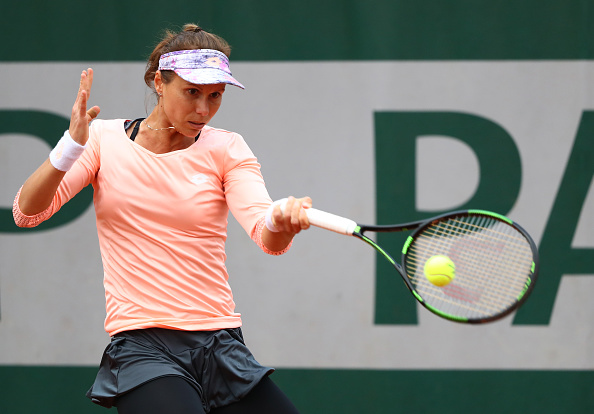Varvara Lepchenko put herself in a strong position in the match. Photo: Julian Finney/Getty Images