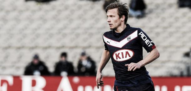 Above: Clement Chantome in action for Bordeaux | Photo: les-transferts.com