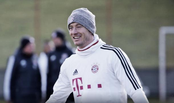 Lewandoski vuelve a la acción contra el Bremen. Foto: fcbayern.com