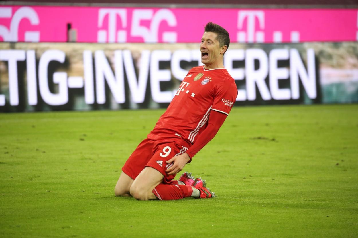 Lewandowski, 31 goles en liga / FOTO: @FCBayern