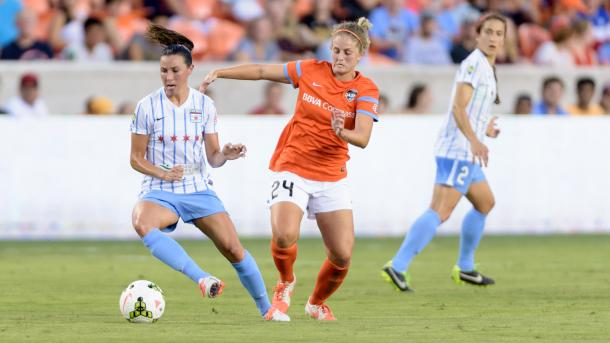 The Houston Dash and the Chicago Red Stars will start off the 2017 season | Source: chicagoredstars.com