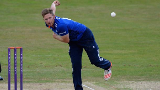 Dawson held his nerve well to take two wickets on debut | Photo: Sky Sports