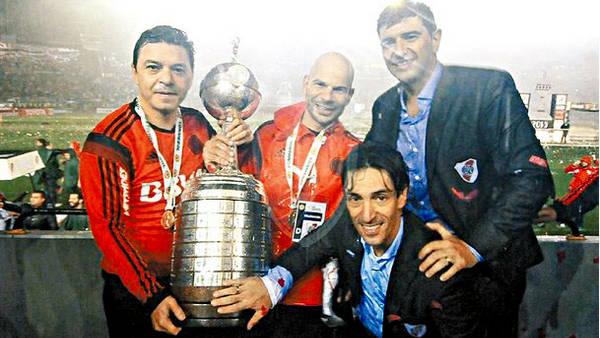 Libertadores, ganada como jugador y DT (Foto: Taringa).
