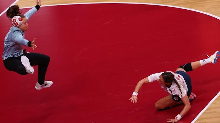 Jogo pegado e definido no detalhe e na concentração (Foto: Divulgação / Olympic Games)