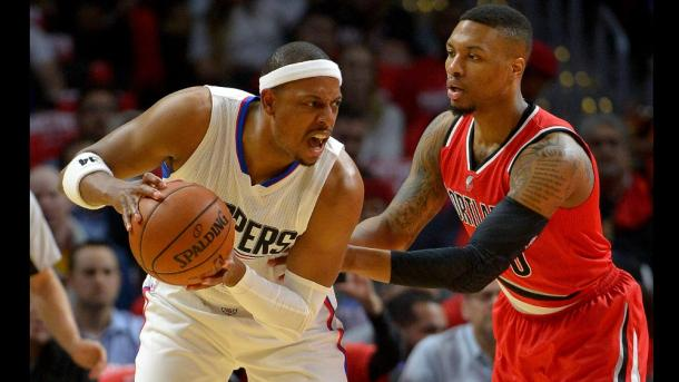 Paul Pierce in azione in gara 5 - Source: NBA.com