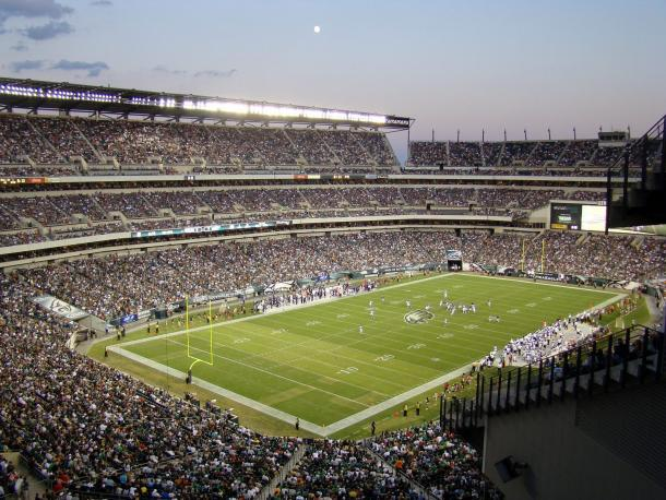 El Lincoln Financial Field acogerá el partido | Foto: NFL