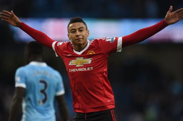 "Lingard put in his ""best"" performance against Manchester City according to Louis Van Gaal 