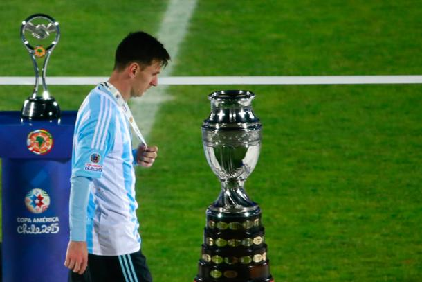 Messi missed the Copa last summer, can he do it again in the United States? Photo: Photo: Miguel Tovar via Getty Images