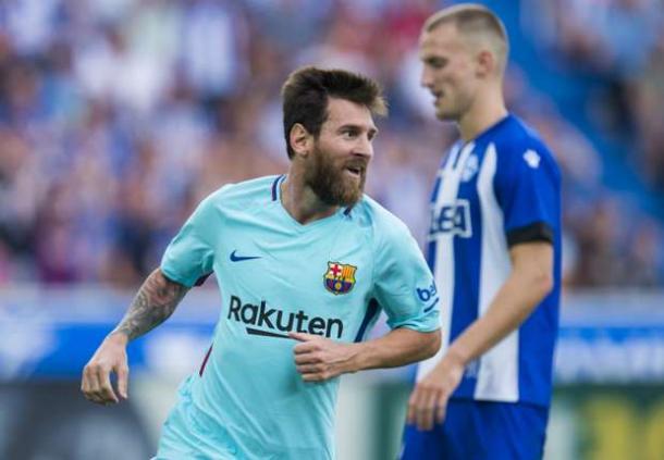 Doppietta per Leo Messi che trascina il Barcellona contro l'Alaves (Fonte foto: Marca)