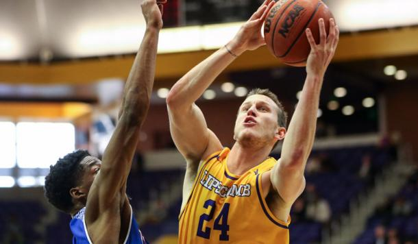 Mathews looks to lead Lipscomb to their second straight NCAA Tournament/Photo: Atlantic Sun Conference athletics website