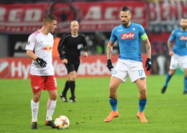 Europa League, la cronaca live di RB Lipsia-Napoli