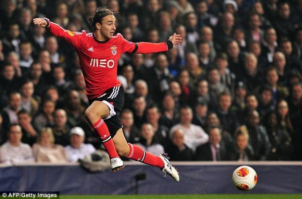 Markovic ai tempi del Benfica. Fonte: http://www.football-please.com