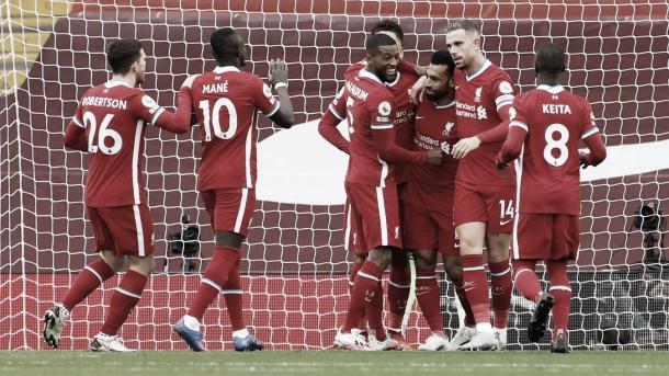 El Liverpool buscará acabar con el invicto del Everton./ Foto: Premier League