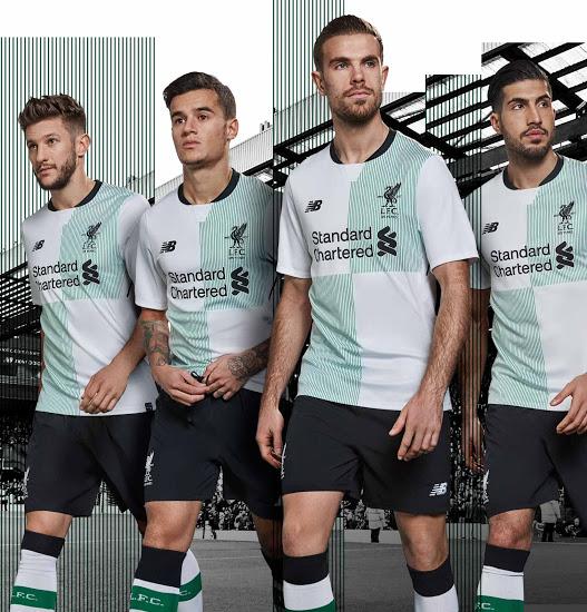 La segunda equipación de los reds | Foto: Liverpool FC