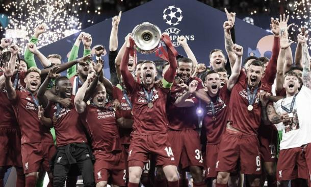 Liverpool campeón de la Champions League 2019./ Foto: Liverpool FC