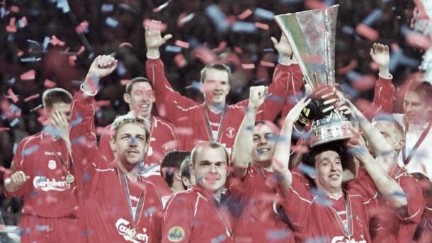 Liverpool campeón de la Copa de la UEFA 2001./ Foto: UEFA.com