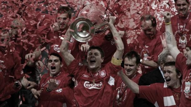Liverpool campeón de la Champions League 2005./ Foto: UEFA.com