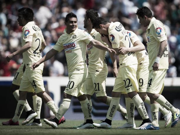 América celebrando un gol | Foto: Live fútbol