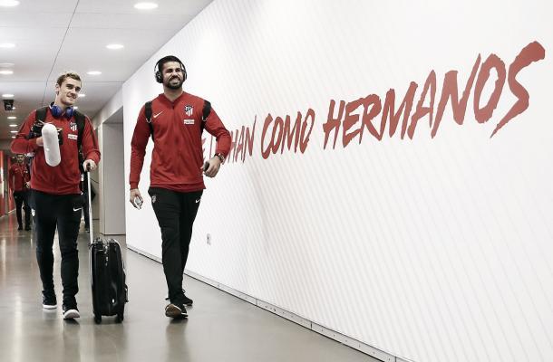 Llegada de Griezmann y Costa al Metropolitano | Atlético de Madrid