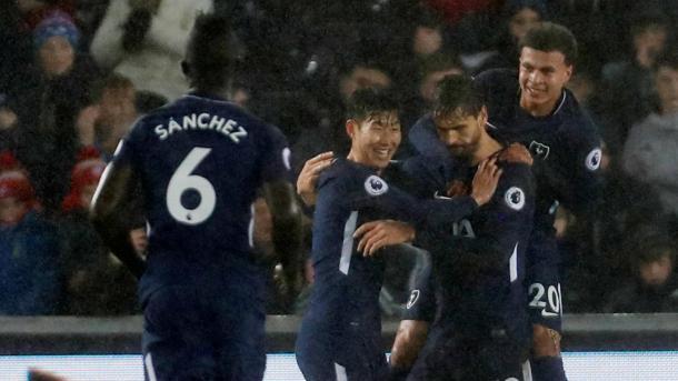 Llorente aprovechó su titularidad | Fotografía: Premier League
