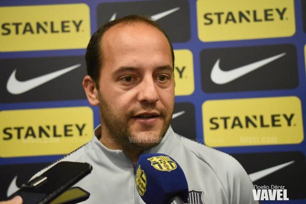 Lluís Cortés, entrenador del FC Barcelona Femenino. FOTO: Noelia Déniz