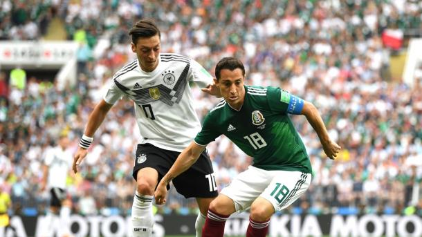 Germany were undone by a sturdy display from Mexico | Source: Getty Images via FIFA.com
