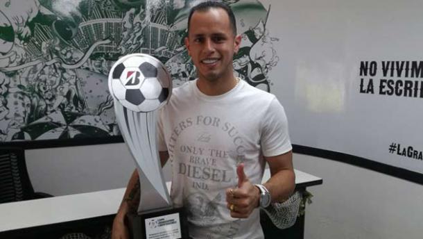 Guerra es el único venezolano en ganar esta distinción. | Foto: Club Atlético Nacional Oficial