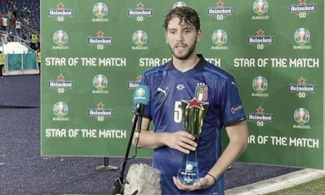Como era de esperar, Locatelli fue la figura del partido | Foto: UEFA