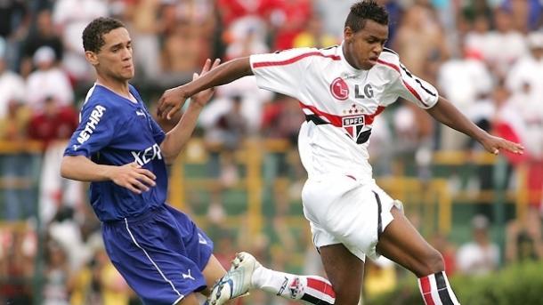 Maicon foi destaque na Copinha 2007 (Foto: Divulgação/Gazeta Press)