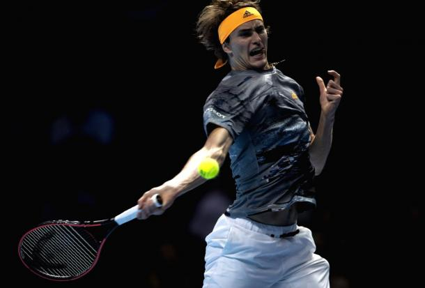 Zverev faces a crunch match after getting dismantled/Photo: Han Yan
