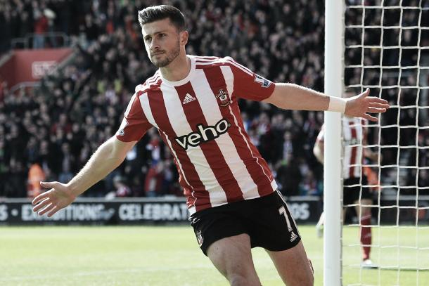 Shane Long netted the first goal of the game against Newcastle (photo source: getty images)