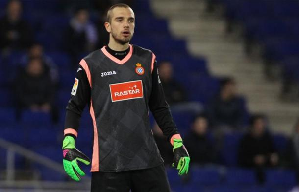 Pau Lopez in action for Espanyol (photo: Getty Images)
