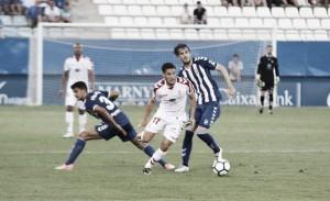 El Lorca FC consiguió la victoria ante la Cultural. Foto: Cultural Leonesa